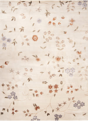 Surya Mugal IN-8150 Tan Rose Area Rug