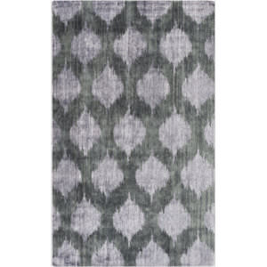 Surya Mugal IN-8605 Black/ Gray Area Rug
