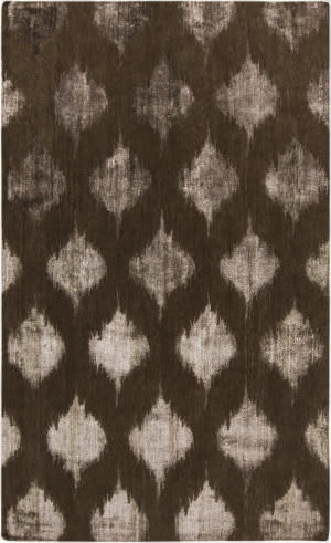 Surya Mugal IN-8606 Chocolate Area Rug