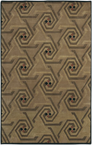 Surya Mugal In-978 Camel Area Rug