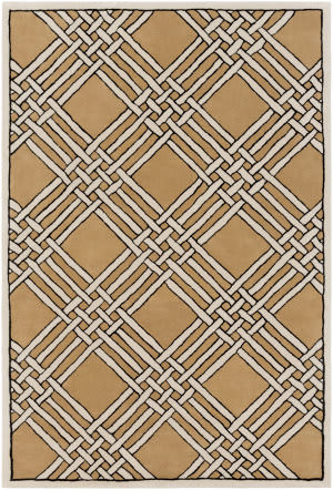 Surya Intermezzo Ine-1003 Black Area Rug
