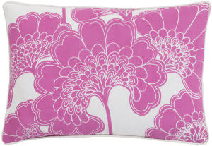 Surya Japanese Floral Pillow Ja-004