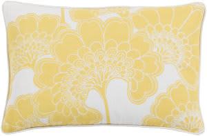 Surya Japanese Floral Pillow Ja-005