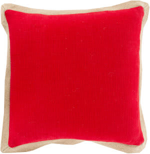 Surya Jute Flange Pillow Jf-002