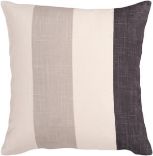 Surya Pillows JS-011 Beige/Charcoal