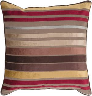 Surya Velvet Stripe Pillow Js-023