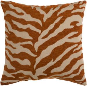 Surya Velvet Zebra Pillow Js-028