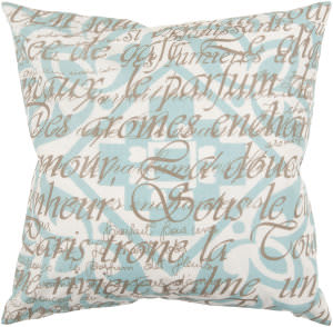Surya Pillows JS-045 Teal/Olive