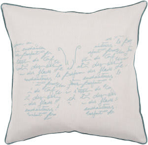 Surya Pillows JS-048 Beige/Teal