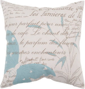 Surya Pillows JS-049 Beige/Teal