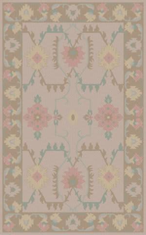 Surya Jewel Tone Ii JTII-2062 Lavender / Green / Violet (purple) Area Rug