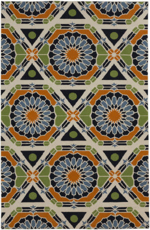Surya Kaleidoscope KAL-8002 Federal Blue Area Rug