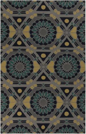 Surya Kaleidoscope KAL-8005 Flint Gray Area Rug