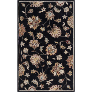 Surya Kingston KGT-2002 Black Olive Area Rug