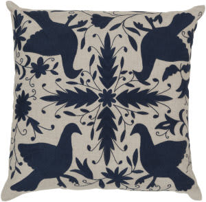 Surya Otomi Pillow Ld-020 Navy