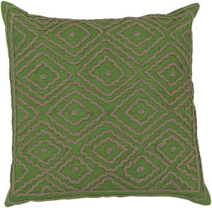 Surya Atlas Pillow Ld-028 Green/Camel