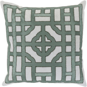 Surya Chinese Gate Pillow Ld-052 Sage