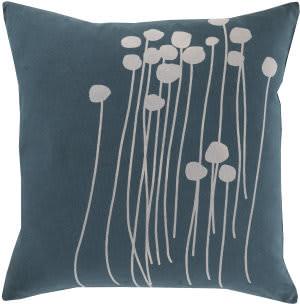 Surya Abo Pillow Lja-003 Green/Grey