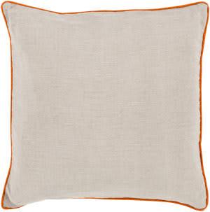 Surya Linen Piped Pillow Lp-001