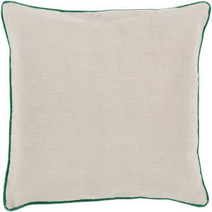 Surya Linen Piped Pillow Lp-002