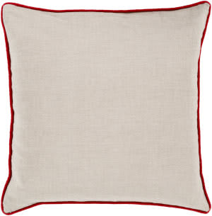 Surya Linen Piped Pillow Lp-004