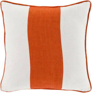 Surya Linen Stripe Pillow Ls-003