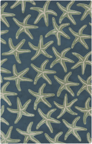 Surya Lighthouse LTH-7006 Night Sky Area Rug