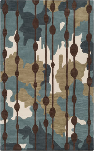 Surya Lava Lva-8009 Dark Robins Egg Blue Area Rug