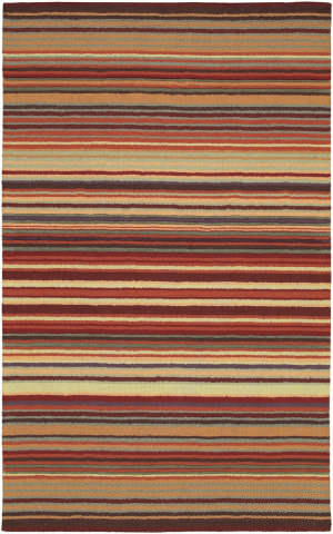 Rugstudio Sample Sale 20053R Burgundy Gold Area Rug