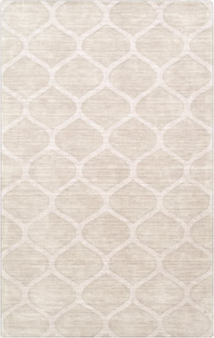 Custom Surya Mystique M-5107 Winter White Area Rug