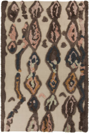 Surya Midelt MDT-1002 Beige / Burnt Orange Area Rug