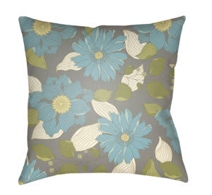 Surya Moody Floral Pillow Mf-037