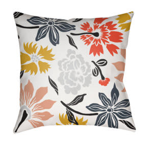 Surya Moody Floral Pillow Mf-039