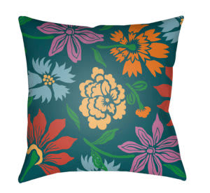 Surya Moody Floral Pillow Mf-043