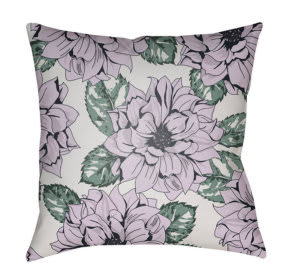 Surya Moody Floral Pillow Mf-050