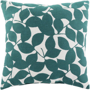 Surya Magnolia Pillow Mg-001 Blue