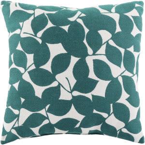 Surya Magnolia Pillow Mg-001 Blue