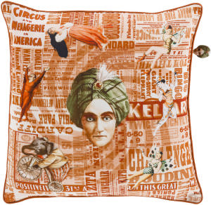 Surya Mind Games Pillow Mng-003