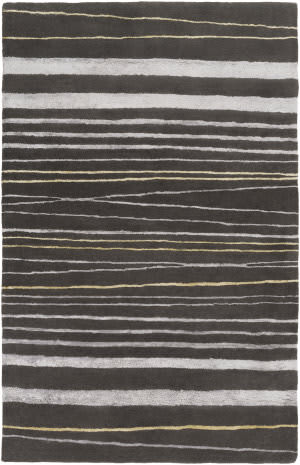 Surya Manor Mnr-1005 Charcoal Area Rug