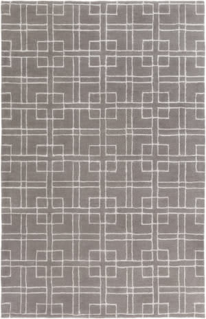 Surya Manor Mnr-1012 Charcoal Area Rug
