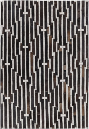 Surya Medora Mod-1017 Black / Brown Area Rug