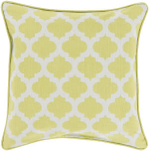 Surya Moroccan Printed Lattice Pillow Mpl-002