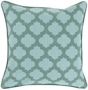 Surya Moroccan Printed Lattice Pillow Mpl-003