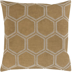 Surya Metallic Stamped Pillow Ms-007