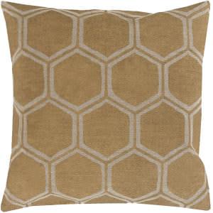 Surya Metallic Stamped Pillow Ms-007