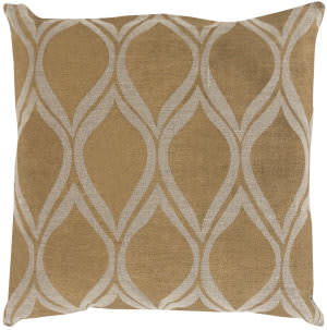 Surya Metallic Stamped Pillow Ms-008