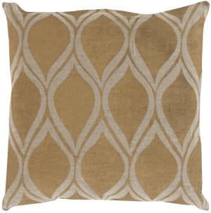 Surya Metallic Stamped Pillow Ms-008