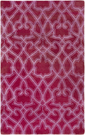Surya Mount Perry Mtp-1012 Magenta Area Rug