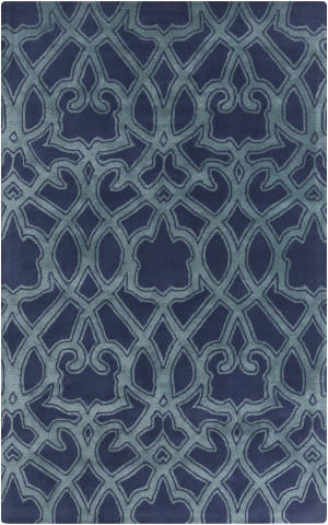 Surya Mount Perry Mtp-1022 Navy Area Rug