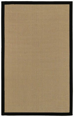 Surya Natural Living Soho Black Area Rug